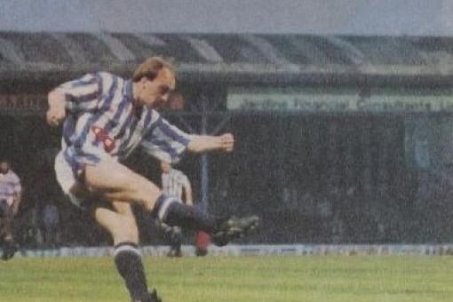 Iain Dunne scores a goal - Huddersfield Daily Examiner